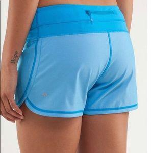 Lululemon Groovy Run Shorts Blue